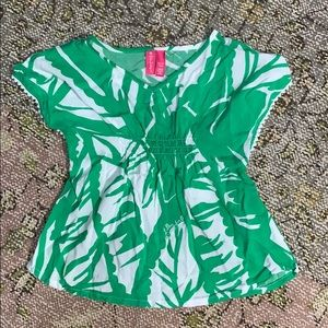 Lilly Pulitzer for Target Girls Size XS(4-5) Tunic